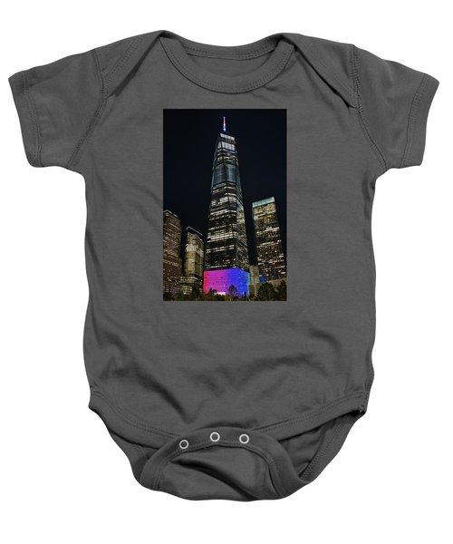 One World Trade Center Baby Onesie