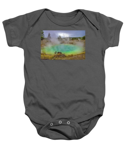 Opal Spring Yellowstone National Park Baby Onesie
