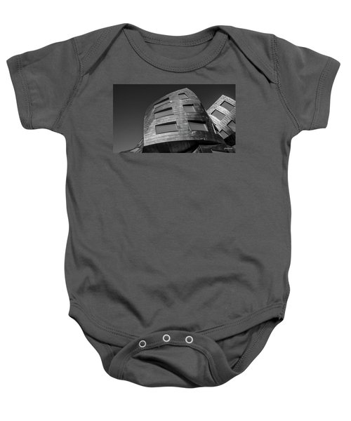 Optical Conclusion Baby Onesie