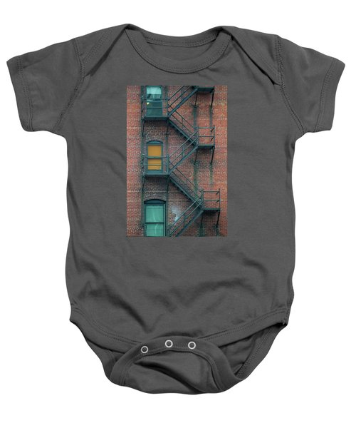 Orange Door Baby Onesie