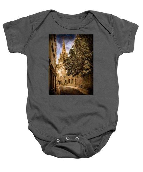 Oxford, England - Oriel Street Baby Onesie