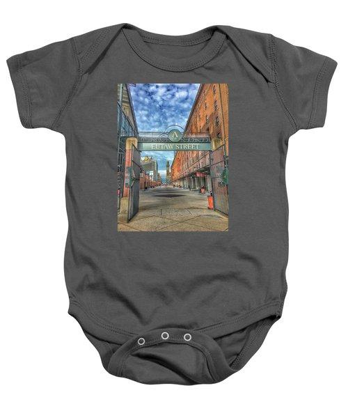 Oriole Park At Camden Yards - Eutaw Street Gate Baby Onesie