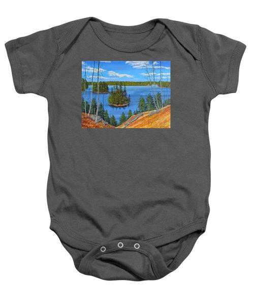 Osprey Island Baby Onesie