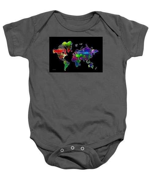 Our Colorful World Baby Onesie