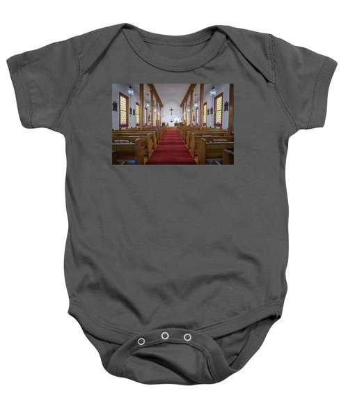 Our Lady Of Mount Carmel Baby Onesie