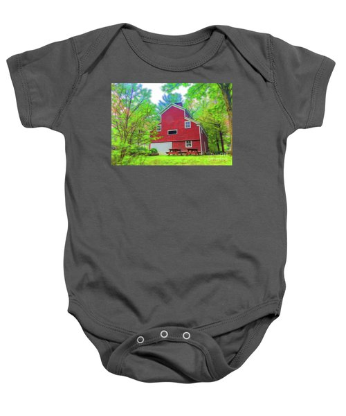 Out In The Country Baby Onesie