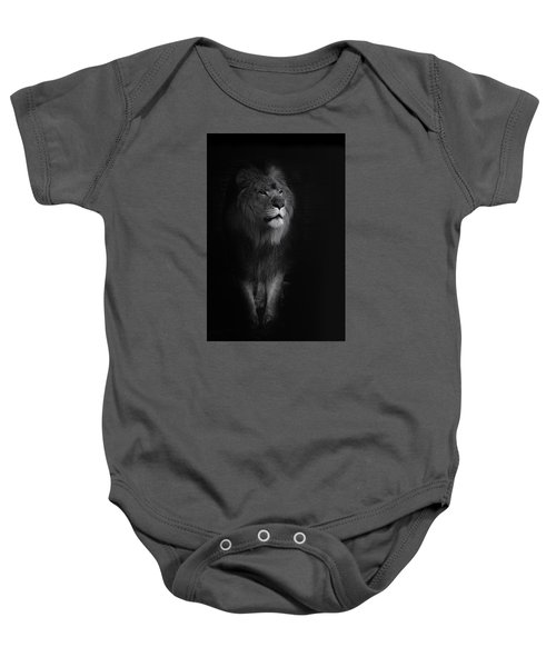 Out Of Darkness Baby Onesie