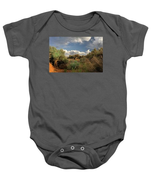 Out On The Mesa 4 Baby Onesie