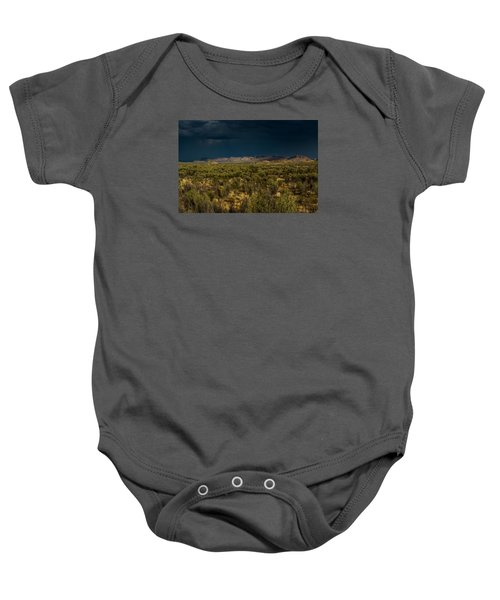 Outback Storm Baby Onesie