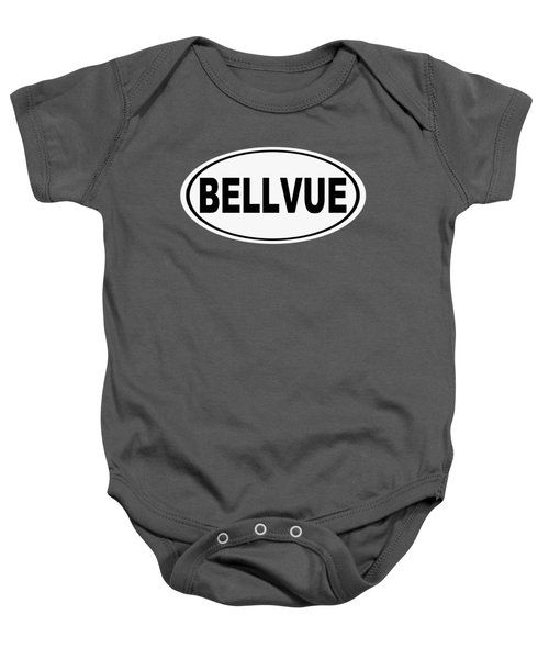 Oval Bellvue Colorado Home Pride Baby Onesie
