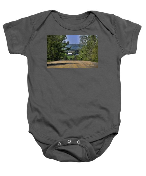 Over The Hill Baby Onesie