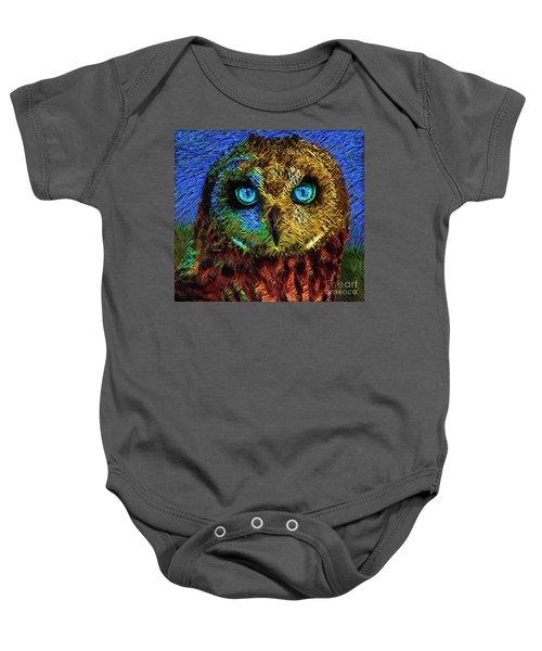 Owl Baby Onesie