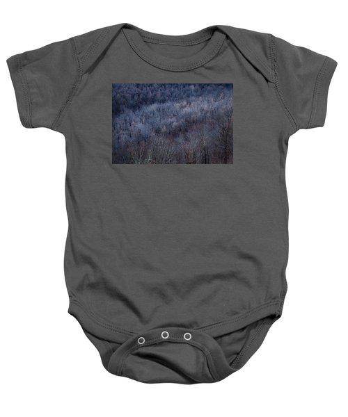 Ozark Trees #3 Baby Onesie