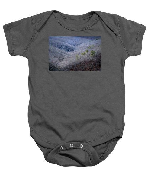 Ozarks Trees #4 Baby Onesie
