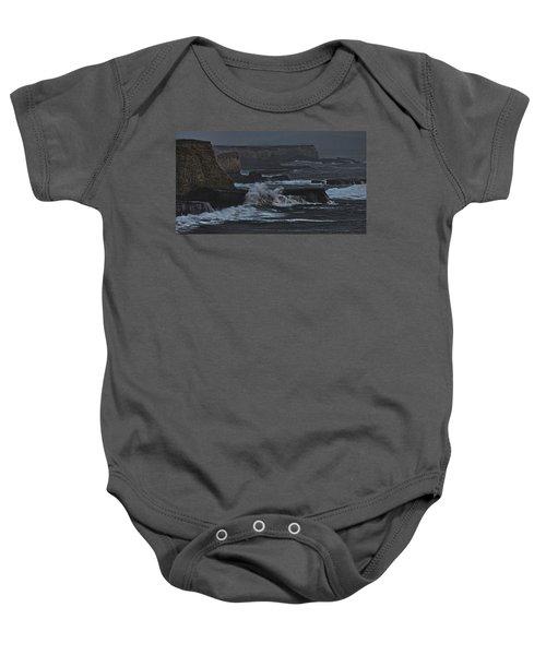 Pacific Cliffs Of Davenport Baby Onesie