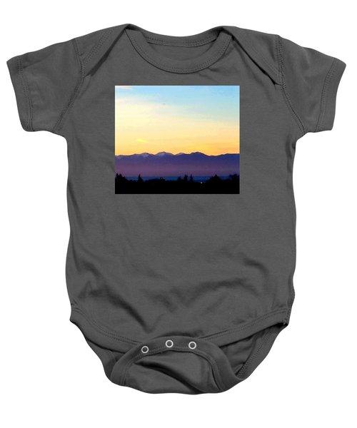 Pacific Twilight Baby Onesie