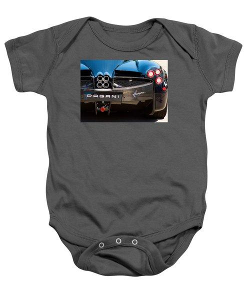 Pagani Huayra Black Baby Onesie
