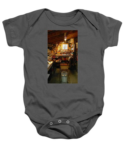 Paint Shed Baby Onesie