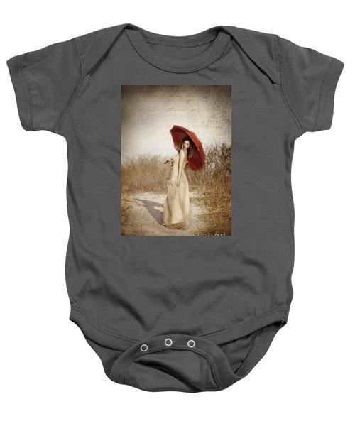 Painted Lady Baby Onesie