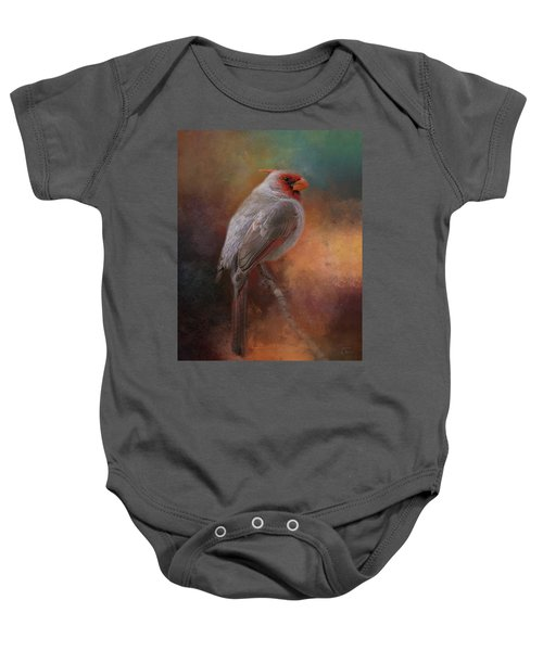 Painted Pyrrhuloxia Baby Onesie