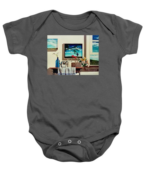 Paintings Within A Painting Baby Onesie