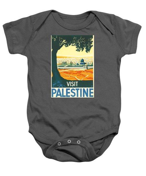 Palestine Baby Onesie