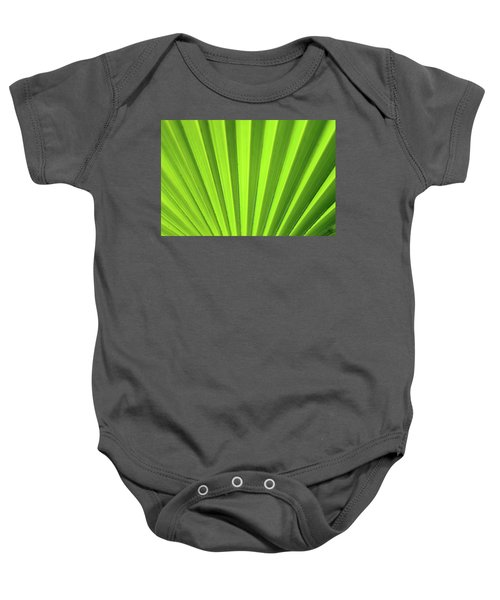 Palm Leaf Abstract Baby Onesie