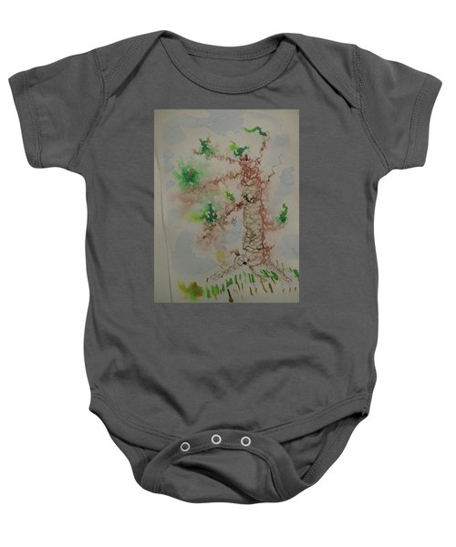 Palm Tree Baby Onesie