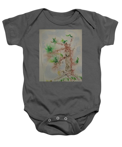 Palm Tree Baby Onesie