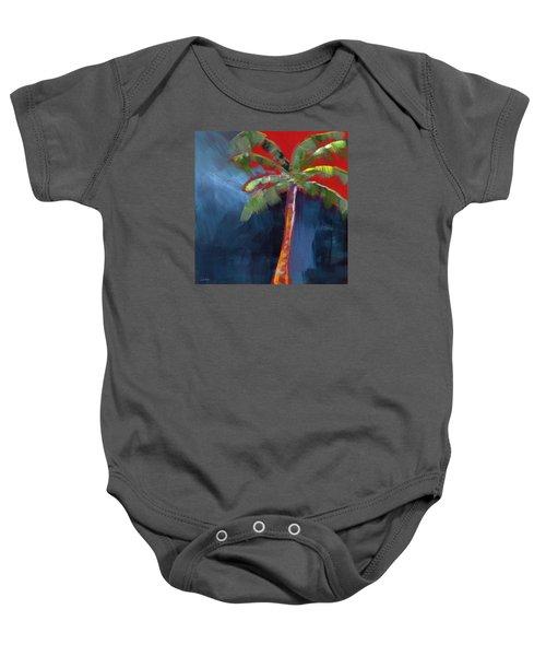 Palm Tree- Art By Linda Woods Baby Onesie