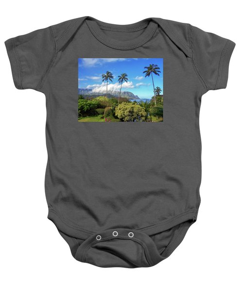Palms At Hanalei Baby Onesie