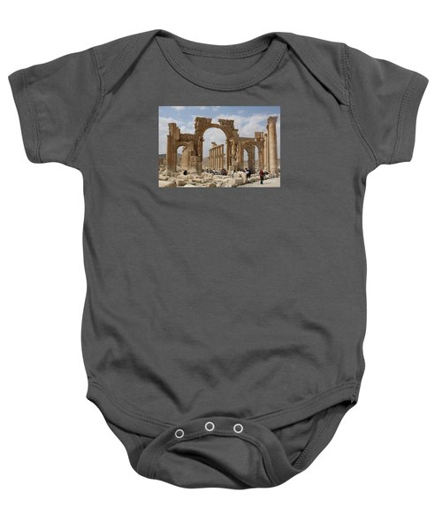 Palmyra Before...triumphal Arch Baby Onesie