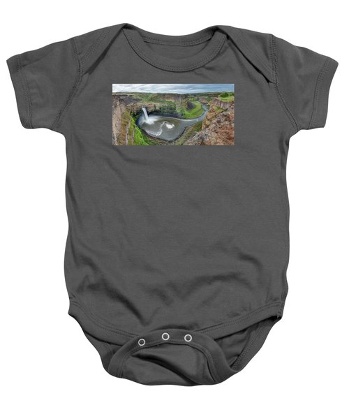 Palouse Falls In The Spring Baby Onesie
