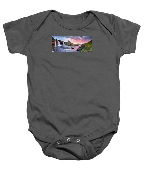 Paradise Lost - Large Panorama Baby Onesie