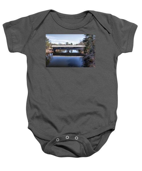 Parsonfield Porter Covered Bridge Baby Onesie