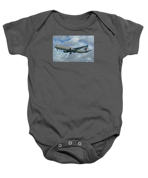 Passenger Jet Plane Baby Onesie