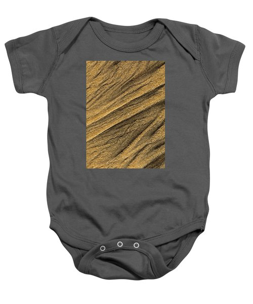 Paterns In The Sand Baby Onesie