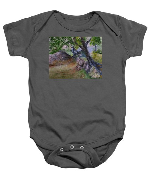Path To Nowhere Baby Onesie