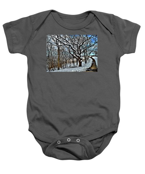 Path To The Lookout Baby Onesie