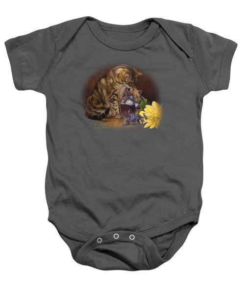 Paw In The Vase Baby Onesie