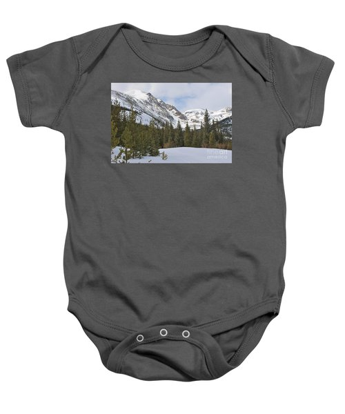 Peace In The Winter 2 Baby Onesie