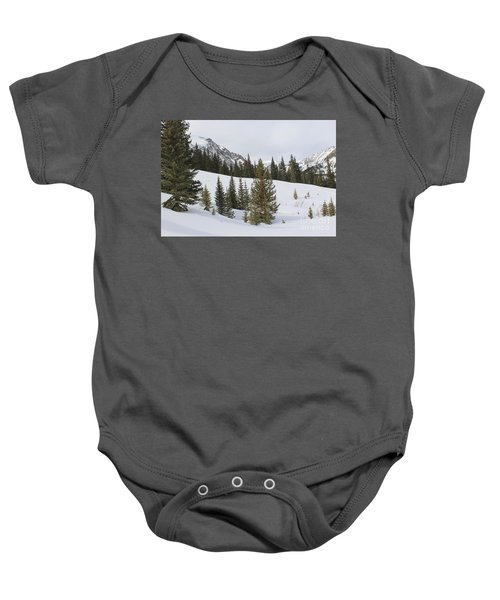 Peace In The Winter 3 Baby Onesie