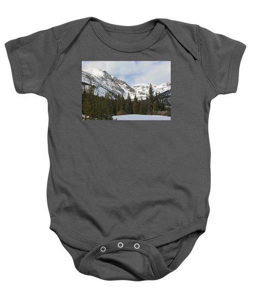 Peace In The Winter Baby Onesie