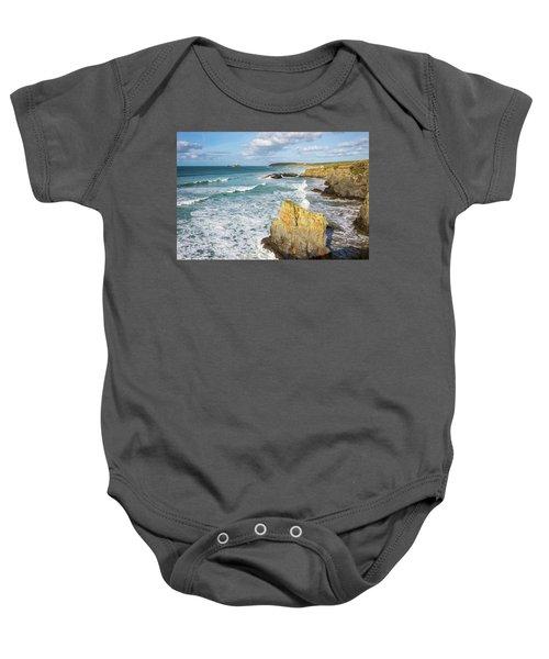 Peaceful Waves Baby Onesie