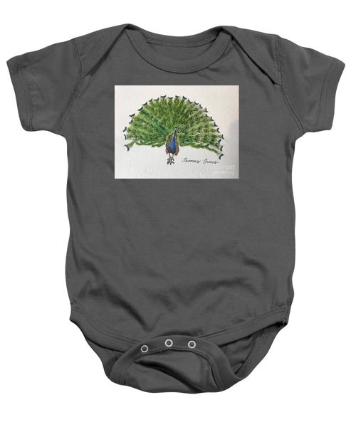 Peacock Baby Onesie