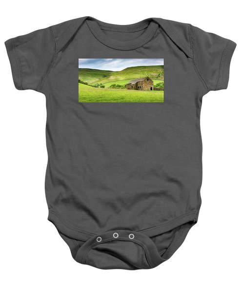 Peak Farm Baby Onesie