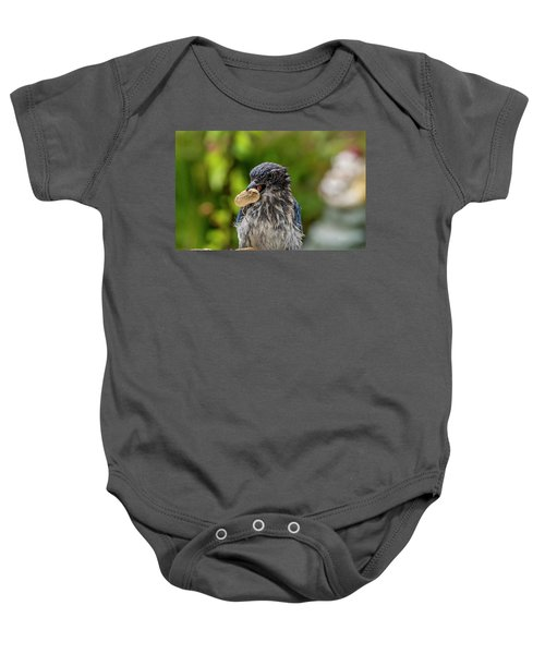 Peanut Hunter Baby Onesie