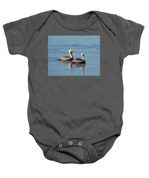 Pelicans 2 Together Baby Onesie