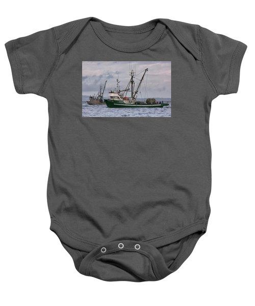 Pender Isle And Santa Cruz Baby Onesie