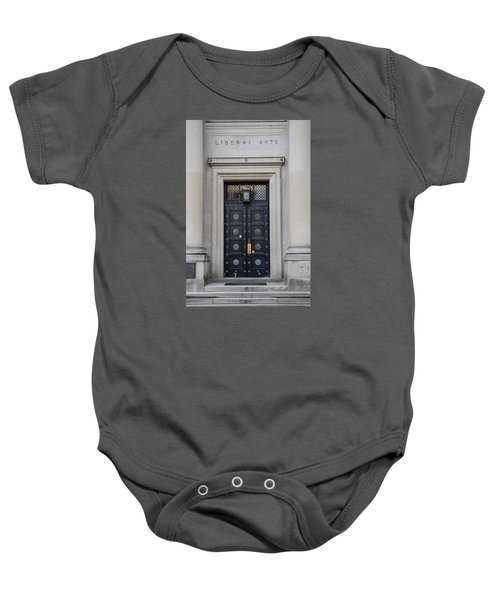 Penn State University Liberal Arts Door  Baby Onesie by John McGraw